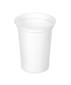 402 - Polypropylene DAIRY cup 400ml, 95mm diameter