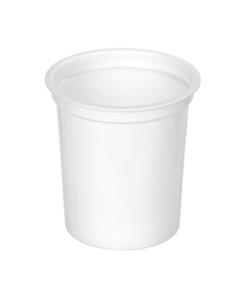 403 - Polypropylene DAIRY cup 375ml, 95mm diameter