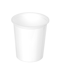 404 - Polystyrene DAIRY cup 375ml, 95mm diameter