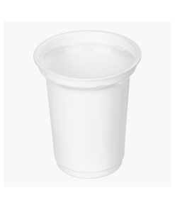 405 - Polystyrene DAIRY cup 350ml, 95mm diameter