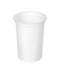 415 - Polystyrene DAIRY cup 500ml, 95mm diameter