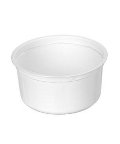 570 - Polypropylene DAIRY cup 615ml, 127mm diameter