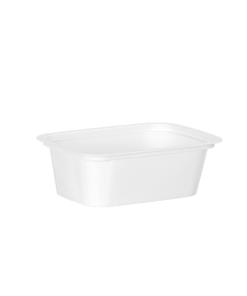 600 - Polystyrene DAIRY cup 150ml, 112mm x 84mm diameter
