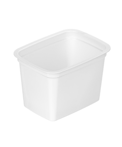 632 - Polystyrene DAIRY cup 350ml, 112mm x 84mm diameter