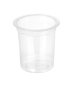 669 - Polypropylene cup 130ml, 68mm diameter