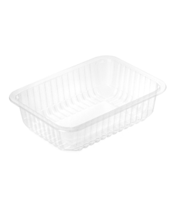 705 - Polypropylene TRAY 800ml, dimensions 187 x 137 x 50mm