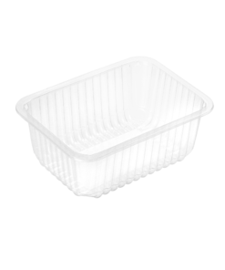 715 - Polypropylene TRAY 1400ml, dimensions 187 x 137 x 83mm