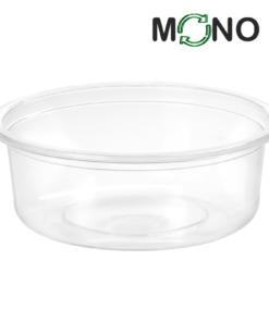120 - Polypropylene MonoCUPP  250ml, diameter 115mm