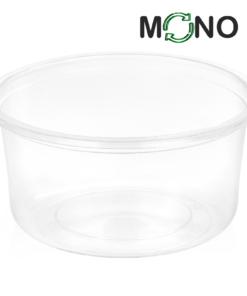 121 - Polypropylene MonoCUPP container 350ml, 115mm diameter