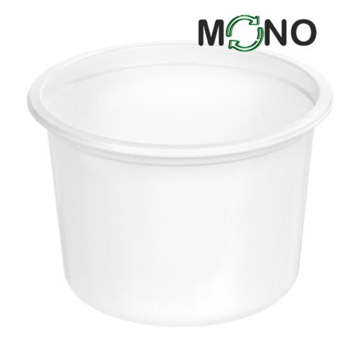 123 - Polypropylene MonoCUPP 500ml, 115mm diameter