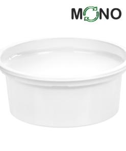 128 - Polypropylene MonoCUPP 400ml, 115mm diameter
