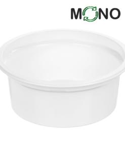 129 - Polypropylene DAIRY MonoCUPP 140ml, 95mm diameter