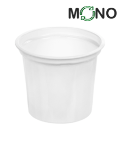 218 - Polypropylene DAIRY MonoCUPP 300ml, 95mm diameter