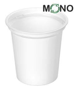 308 - Kubek MLECZARSKI Polipropylenowy MonoCUPP 320ml, średnica 95mm