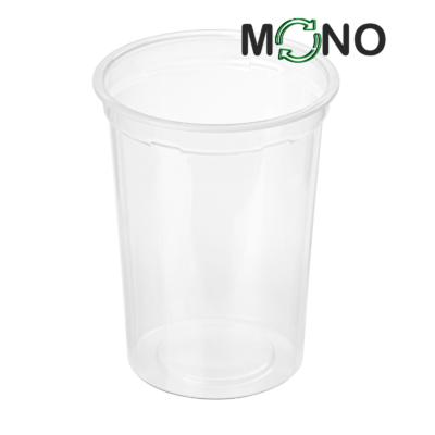 402 - Kubek MLECZARSKI Polipropylenowy MonoCUPP 400ml, średnica 95mm