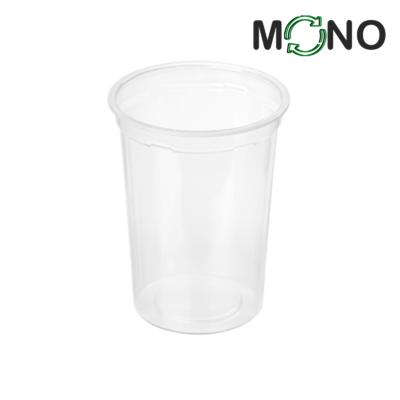 423 - Kubek MLECZARSKI Polipropylenowy MonoCUPP 500ml, średnica 95mm