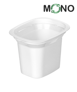641 - Polypropylene DAIRY MonoCUPP 200ml, 94mm x 77mm diameter